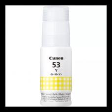 GI-53 Yellow Dye Genuine OEM Canon Bottle of Ink..