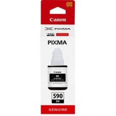 CA-GI-590 Black Pigment Genuine OEM Canon Bottle of Ink - 135ml.