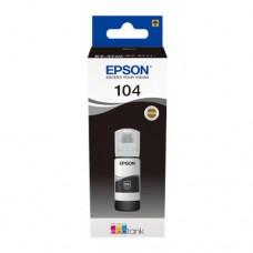 EP-104 Black Dye Genuine OEM Epson Bottle of Ink.