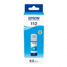 EP-112 Cyan Pigment Genuine OEM Epson Bottle of Ink.
