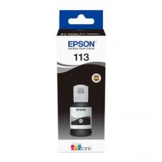 EP-113 Black Pigment Genuine OEM Epson Bottle of Ink.
