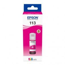 EP-113 Magenta Pigment Genuine OEM Epson Bottle of Ink..