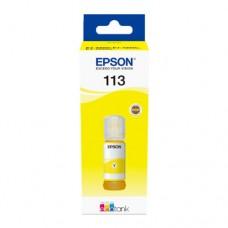 EP-113 Yellow Pigment Genuine OEM Epson Bottle of Ink.