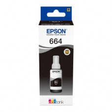 EP-664 Black Dye Genuine OEM Epson Bottle of Ink.