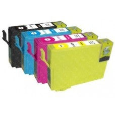 A set of pre-filled Epson Compatible T2715 dye sublimation ink cartridges.