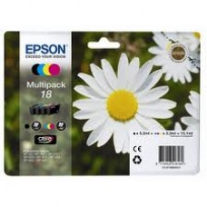 Epson Branded T1806 Ink Cartridge Set.