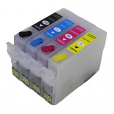 Epson Compatible T1816 Empty Refillable Cartridge Set.