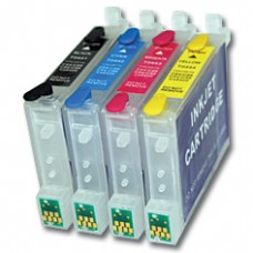 Epson Compatible T0615 Empty Refillable Cartridge Set.