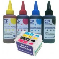 Epson T1295 Non OEM  Refillable Cartridge Kit