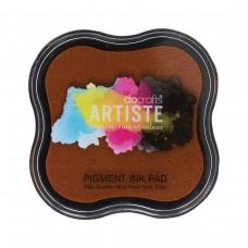 Artiste - Pigment Mini Ink Pad - Dark Orange.