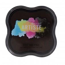 Artiste - Dye Mini Ink Pad - Chocolate.