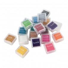 Artiste - Mini Mini Ink Pads Dye (20pk) - Assorted Colours.