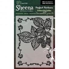 "Sheena Douglas Perfect Partners Embossing Folder 5 x 7"" - B""."