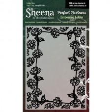 "Sheena Douglas Perfect Partners Embossing Folder 5 x 7"" - D""."