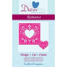 Diesire 'Create a Card' Metal Die - Romance.