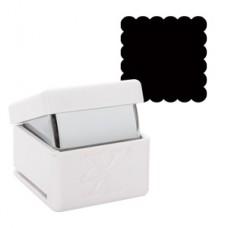Xcut Palm Punch Large - Scallop Square.