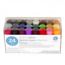 Silhouette Pen Kit - 24 Colours.