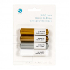 Silhouette Sketch Pen - Metallics.