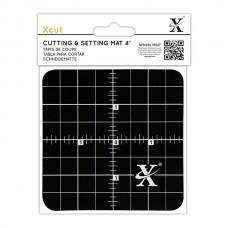 Xcut 4'' Cutting & Setting Mat - Black.