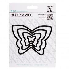 Xcut Nesting Dies - Butterflies - 4pcs.