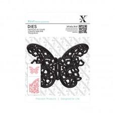 Xcut Decorative Dies - Floral Filigree Butterfly.