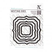 Xcut Nesting Dies - Square Parenthesis - 5pcs.