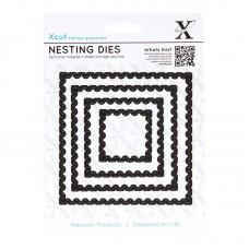 Xcut Nesting Dies - Postage Stamps 4pcs.