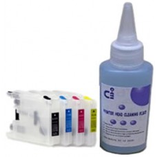 Sublimation Cleaning Cartridge Kit for Printer Models using Brother LC1240 Cartridges.