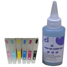 Sublimation Cleaning Cartridge Kit for Printer Models using Epson T2438 Cartridges.