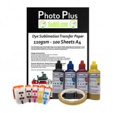 Epson Compatible 202 Sublimation Printer Conversion Kit.