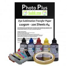 Epson Compatible T26 Series Sublimation Printer Conversion Kit.