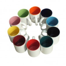 11oz Mug with Coloured Inner - Box of 36pcs