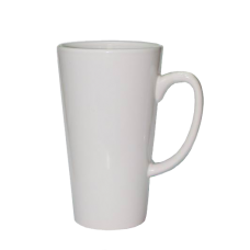 17oz White Latte Mug  - Box of 24pcs