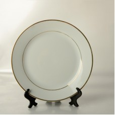 8'' Gold Rim Plate for Dye Sublimation Printing