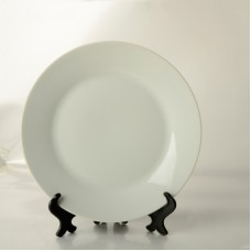 8'' White Plate for Dye Sublimation Printing