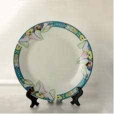 8'' Color Fringe Plate for Dye Sublimation Printing