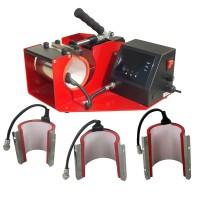 Heat Press -  LMP-10C 4 in 1 Horizontal Mug Press for Latte & standard  Mugs