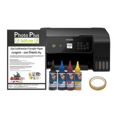 Dye Sublimation Printer Bundle - Based on an Epson Ecotank L3150 & Hobbyprint Dye Sublimation Printing Accessory Kit.