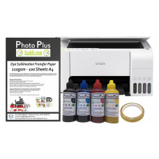 Dye Sublimation Printer Bundle - Based on an Epson Ecotank L3156 & Hobbyprint Dye Sublimation Printing Accessory Kit.