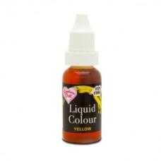 Rainbow Dust Liquid Food Colour  - Yellow - 16ml