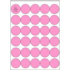 10 x A4 Printable Edible Icing Sheets with 30 Pre-cut 38mm Circles per Sheet