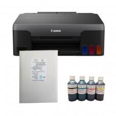 Edible G1520 Ink Tank Printer Bundle with HobbyPrint® ink, and Icing Sheets.