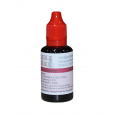 30ml Bottle of Magenta Edible Ink for Canon Printers.