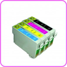 Edible Ink Cartridge Set for Epson T1295 Cartridges by HobbyPrint®.