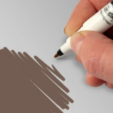 Food Art Pen - Dark Chocolate, with a fine and a broad nib. - 2 pens in 1.