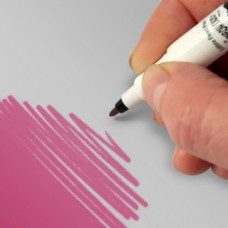 Food Art Pen - Dusky Pink, with a fine and a broad nib. - 2 pens in 1.