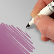 Food Art Pen - Grape Violet, with a fine and a broad nib. - 2 pens in 1.