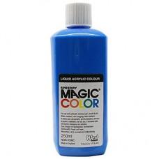 Liquid Acrylic Ink 250ml bottle MC520 - Lagoon Blue