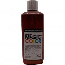 Liquid Acrylic Ink 250ml bottle MC720 - Sepia Brown