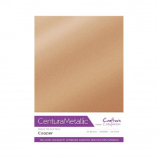 Centura Metallic A4 Printable 310gsm Printable Card Pack - Copper 10 sheets